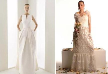 tendenze abiti da sposa - vestiti con tasche