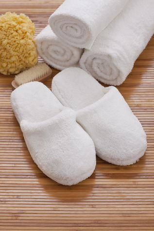 Riciclare Asciugamani ciabattine