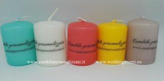 candele per eventi